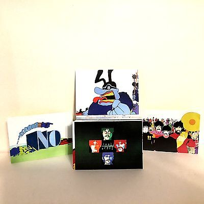 Complete Set 72 Cards The Beatles Yellow Submarine 1999 Comic Images 4 x 6 Size
