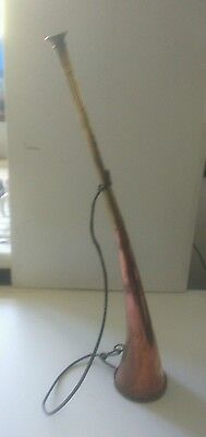 Vintage Copper And Brass Hunting Horn 21 1/2""""