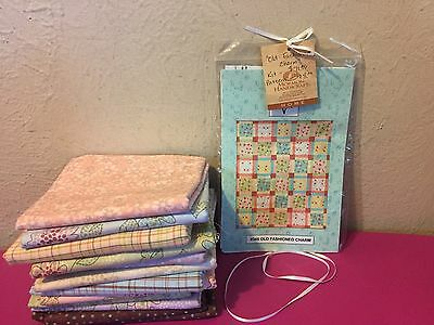 """70"""" x 84"""" Old Fashion Charm Quilt Kit / Pieces From My Heart Henry Glass Fabrics"""