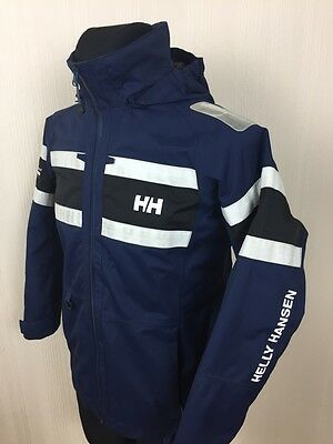 Women HELLY HANSEN OFFSHORE Helly Tech Hooded Sailing Yachting Jacket S Small