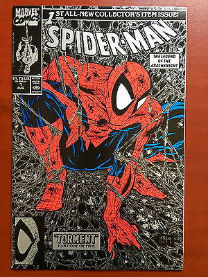 Spider-Man #1 Silver & Black Edition ~ Nm/mt (9.8) ~ Mcfarlane ~ Get It Signed!