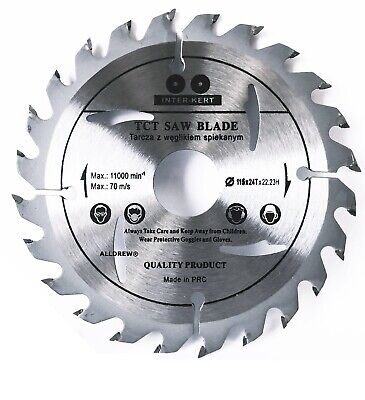 115mm Saw Blade for WOOD and PLASTIC 4.5'' Angle Cutting Circular Saw 24 TCT