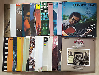 "28 x Classical Music 12"" Vinyl Records, Job Lot, Beethoven, Miller, Beecham."