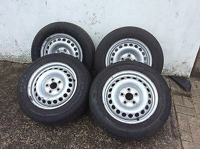 "VW T5 4x16"" Wheels And Tyres"