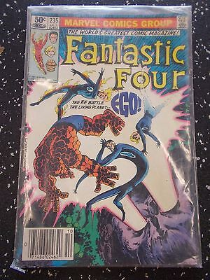 Vintage 1981 Fantasitc Four Vol 1 No 235 Marvel Comics Signed by John Byrne!!