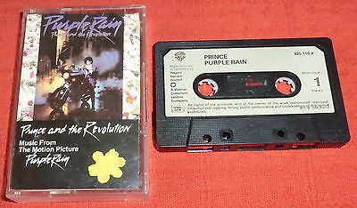 Prince And The Revolution - Uk Cassette Tape - Purple Rain