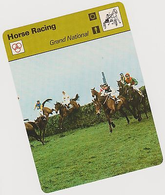 Rare 1979 Grand National Sportscaster Card #03 005 83-02 A Printing Mint
