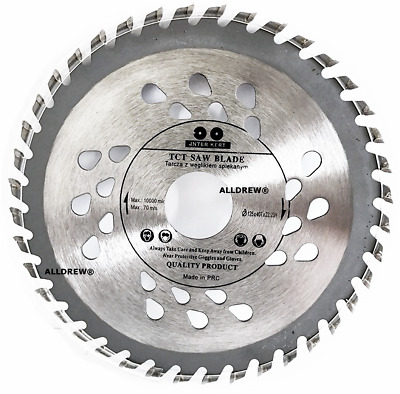 125mm Cutting Disc Blade for WOOD and PLASTIC 5'' Circular Saw Blade 24 TCT