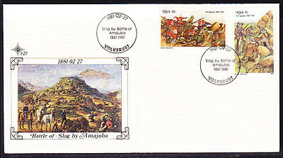 South Africa 1981 - Battle of Slag Souvenir Cover - Unaddressed