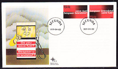 South Africa 1979 Save Fuel Souvenir Cover - Unaddressed
