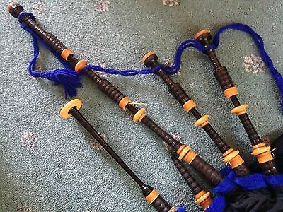 Grainger  Bagpipes A Blackwood   Good players set !!