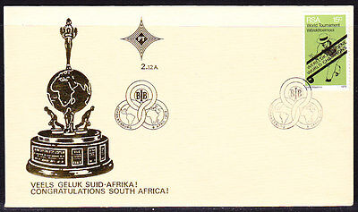 South Africa 1976 Lawn Bowls Championships First Day Cover - Unaddressed