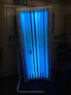 8t philips canopy tanning sunbed white 100watt  message for delivery £ most uk
