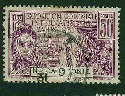 New Caledonia 1931 - 50c Colonial Exhibition - Fine Used