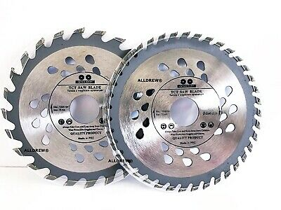 ( Set of 2 ) 125mm x 24 & 40 TCT Saw Blade for WOOD and PLASTIC 5'' Circular Saw