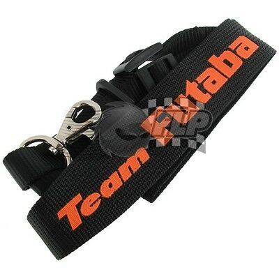 Team Futaba Neck Strap Black & Orange P-EBB1063