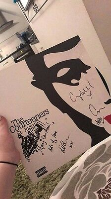 Courteeners St Jude Vinyl LP, Good Condition Signed/ Inscribed