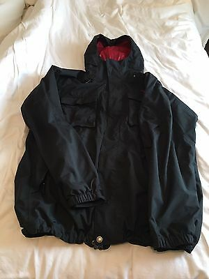 The North Face Decagon Mens Ski/Snowboarding Jacket Extra Large Black