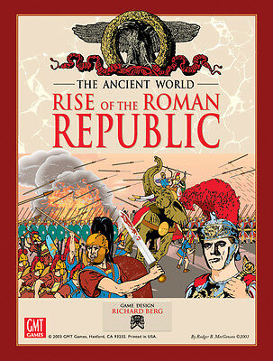 wargame: Rise of the Roman Republic by GMT no Compass MMP AH SPI AVALON GDW