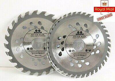 115 / 125 / 160mm Angle Grinder Plunge Saw Blade Wood Plastic 24 / 40 TCT Teeth