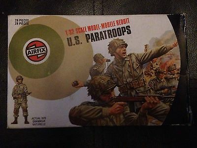 Airfix 1:32 Scale U.S. Paratroops Complete box of 29 pieces WW2