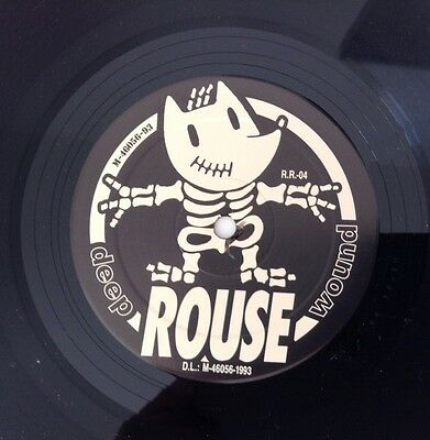 Rouse Deep Wound Rumble Records vinilo Hardcore melodico