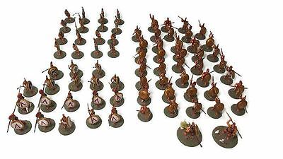 Spartan Army 28mm Warlord Games PAINTED 74 Miniatures SAGA DBA WRG ADLG