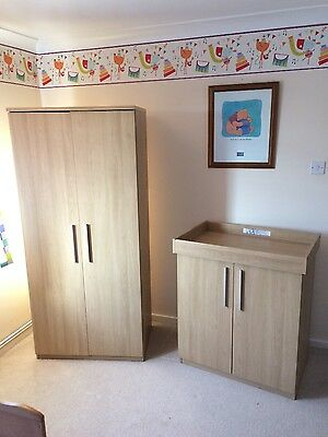 Children's baby kids wardrobe changing unit set Mamas and papas. I'm in Norwich
