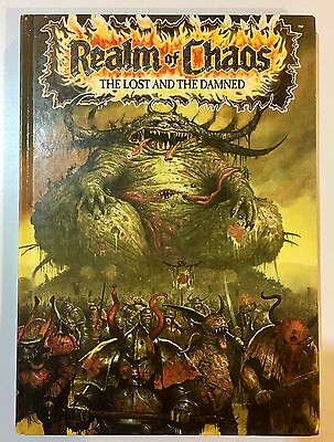 Warhammer 40,000K 40K Realm of Chaos The Lost and the Damned. Hard Cover Book