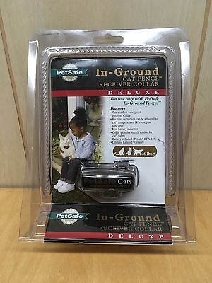 PetSafe Deluxe In-Ground Cat Fence Receiver Collar - NEW SEALED - QUICK SHIP