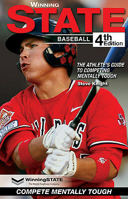 WINNING STATE BASEBALL Mental Toughness Book - The #1 Confidence Books in Sports
