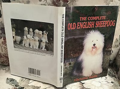 The Complete Old English Sheepdog dog book Christina Smith 1993 lst edition