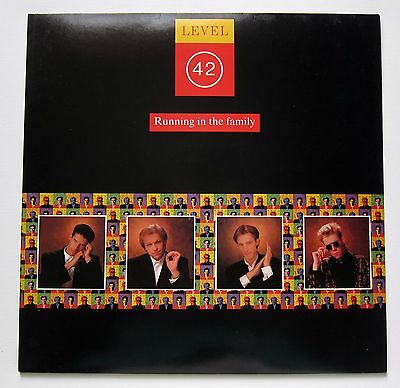 LEVEL 42 Running In The Family 1987 LP UK 1st Pressing SUPERB CONDITION