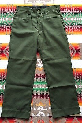 Vintage Forest Service FSS Pants Nomex 36x30 Aramid Fire-Fighting Wildland