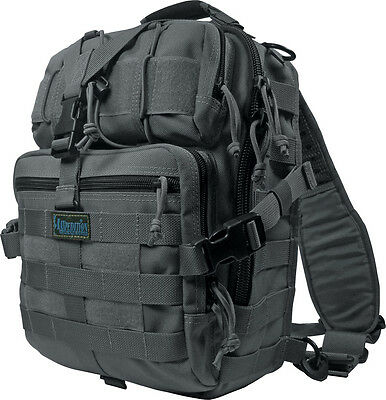 "Maxpedition MX423B Malaga Gearslinger Black Overall Size 10"" x 14"" x 7"""