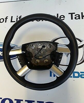 Genuine Ford Transit MK 7 leather  Steering Wheel with controls.