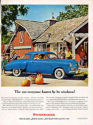 1948 Studebaker  Car ad --Starlight Coupe ----z1250