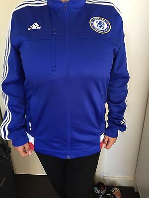 CHELSEA FC Adidas Jacket Size M Anthem Jacket Brand New