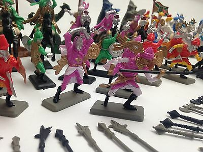 MEDIEVAL TIMES NEW TOYS SOLDIER DRAGON FIGURINES SET KNIGHT FANTASY KIDS 120 Pcs