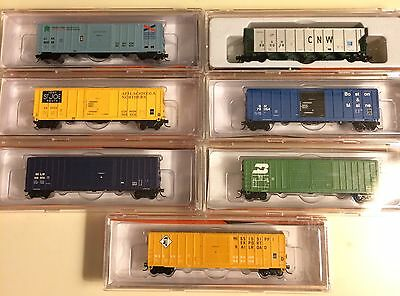 N Scale Train Lot Of 7 New Old Stock Fox Valley Models
