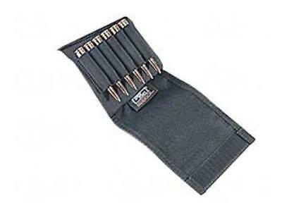 Uncle Mike's 88482 Slip On Rifle Buttstock Shell Holder Flap Black Cordura