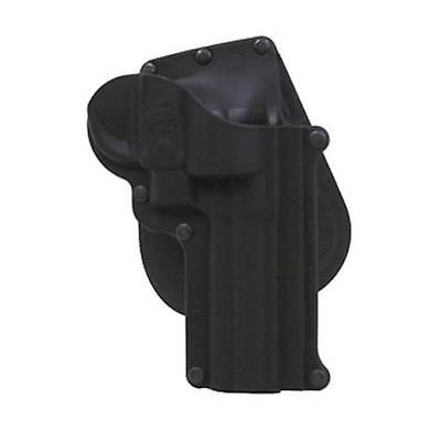 "Fobus SW4 Smith & Wesson K&L Frame Revolver 4""/Taurus 66 Black Paddle Holster"