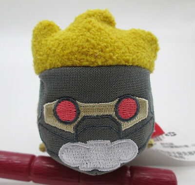 "Disney Store Marvel Guardians of the Galaxy Star-Lord Tsum Mini 3 ½"" Plush Doll"