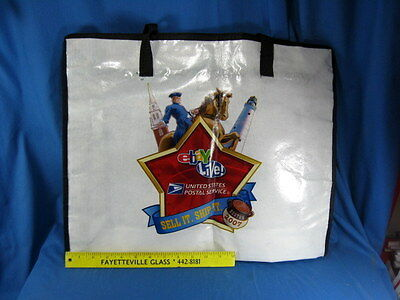 2007 Boston Retro eBay Live! Zippered Large Tote Bag for Power Seller w Pockets!