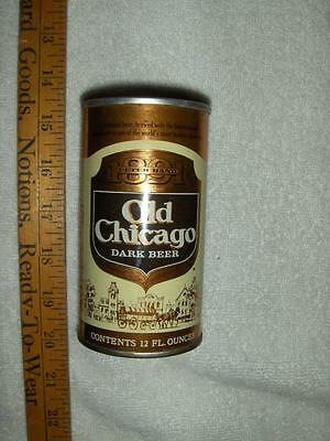 Empty Old Chicago Dark Beer Pull Tab 12 Oz. Can