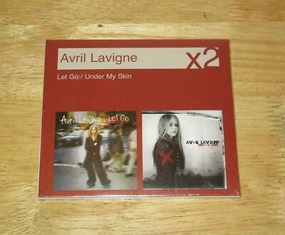 Under My Skin/Let Go by Avril Lavigne (CD, Sep-2007, 2 Discs, Sony BMG)