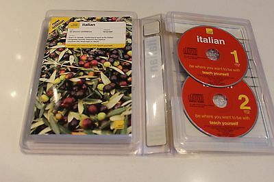 Teach Yourself Italian Complete Course with 2 CD's Learn Audio