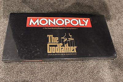 Monopoly The Godfather Collector's Edition 2012 Rare Discontinued in Shrinkwrap