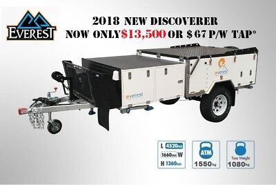 Everest Discoverer Base Model Forward Fold Slide Out Off Road Camper Trailer