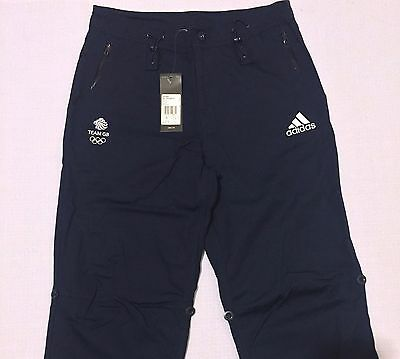 Olympic Team GB Cotton Chino Trousers Rio 2016 Adventure ATHLETE ISSUE BNWT 34''